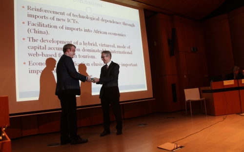Padraig Carmody. Africa's Information Revolution: Technical Regimes and Production Networks in South Africa and Tanzania. 2016 prizewinner of the Section of Technical Sciences © RAOS