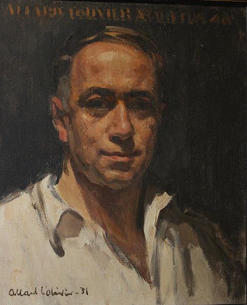 Autoportrait de 1931 (collection particulière, La Panne)