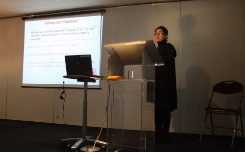 Fariba Poosti - Selective targeting of interferon gamma to interstitial myofibroblasts attenuates renal fibrosis © RAOS