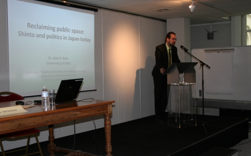 Aike Rots - Reclaiming Public Space: Shinto and Politics in Japan Today © RAOS