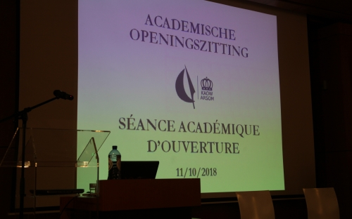 Academic Opening Session © RAOS